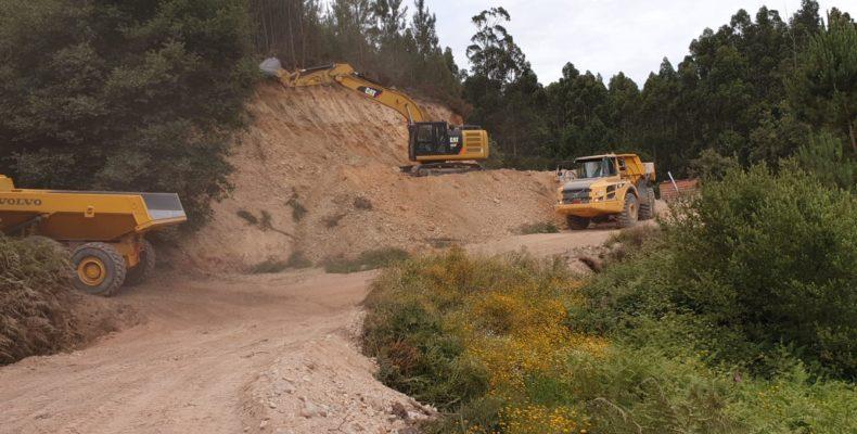 Terras Centro Escavação Espite
